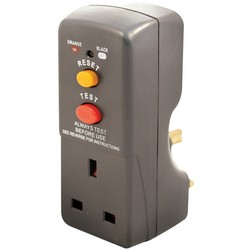 Masterplug Latching RCD Safety Adaptor 13amp
