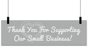Thank you for supporting our small uk business